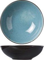 Cosy&Trendy Finesse Blue Diep Bord - Ø 20 cm x 6.2 cm - Set-6