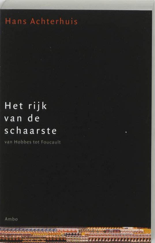 Boek cover Het rijk van de schaarste van Hans Achterhuis (Paperback)