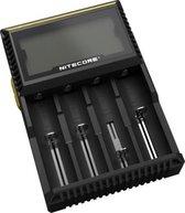 Nitecore D4 Digicharger - batterijoplader voor 4x NiMH (AA - AAA) en li-ion batterijen
