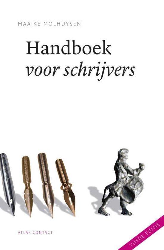 Handboek voor schrijvers - Maaike Molhuysen  