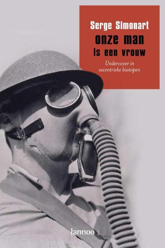 Boek cover Onze man is een vrouw van Serge Simonart (Paperback)