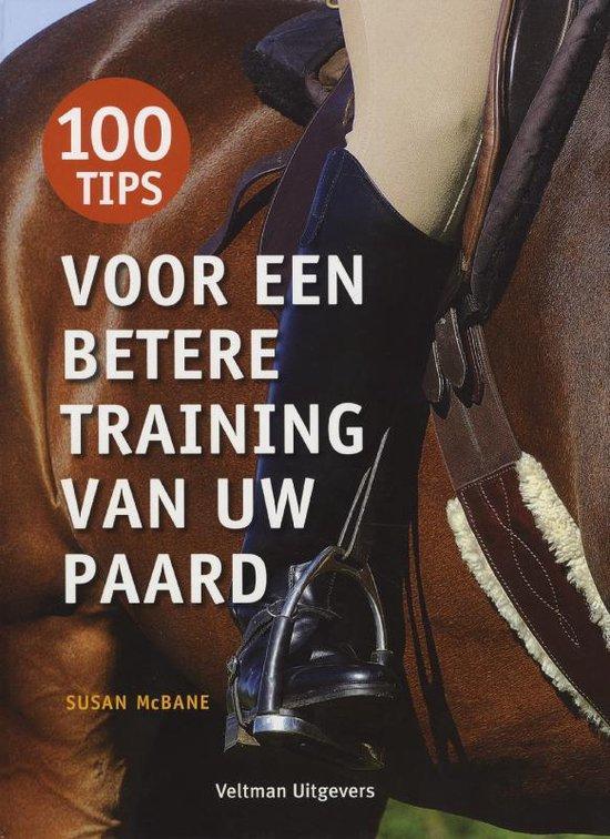 Cover van het boek '100 Tips voor een betere training van uw paard' van Susan MacBane