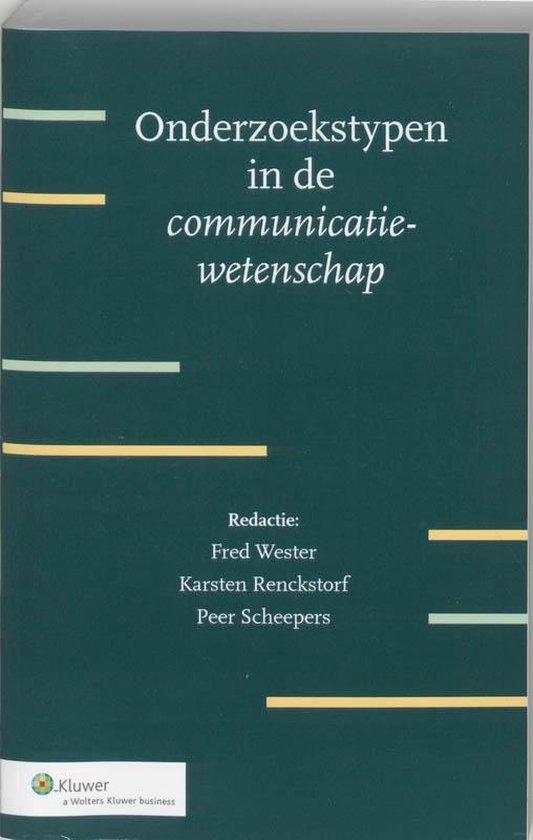 Onderzoekstypen in de communicatiewetenschap - none pdf epub