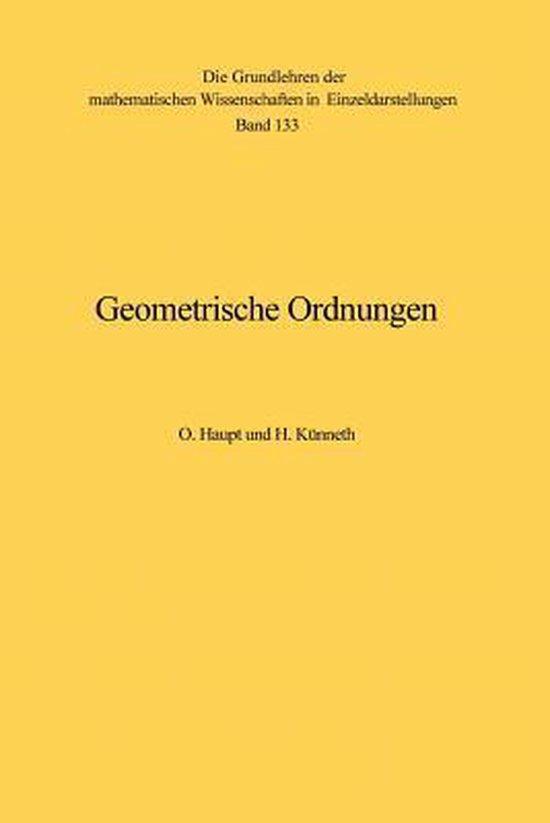 Geometrische Ordnungen