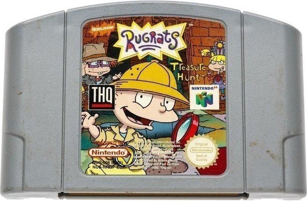 Rugrats Treasure Hunt - Nintendo 64 [N64] Game PAL - Nintendo