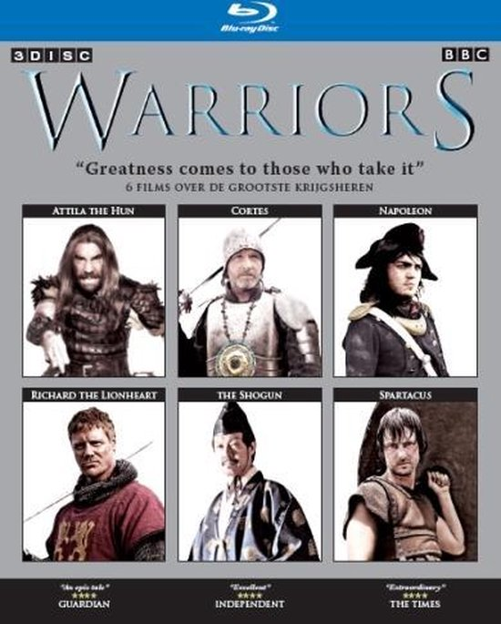 Cover van de film 'Warriors'