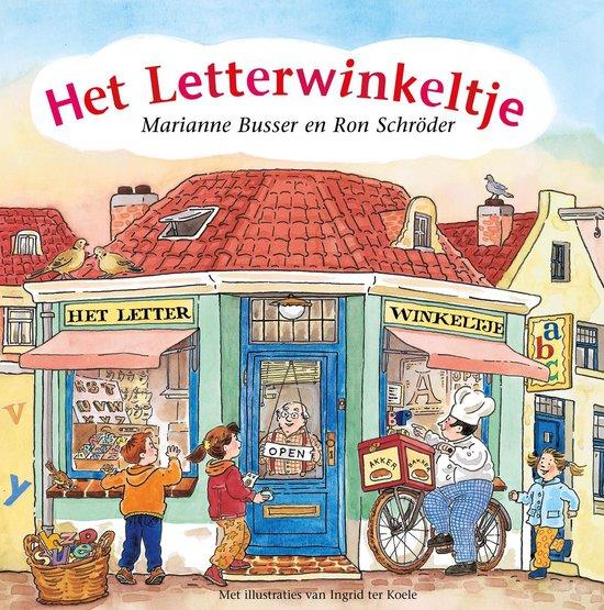 De Winkeltjes - Het letterwinkeltje - Marianne Busser pdf epub
