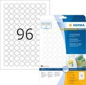 HERMA 4386 Etiketten wit Movables/verwijd. Ø 20 A4 2400 st.