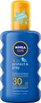 Nivea Sun Kids Zonnespray Gekleurd SPF 30 200 ml