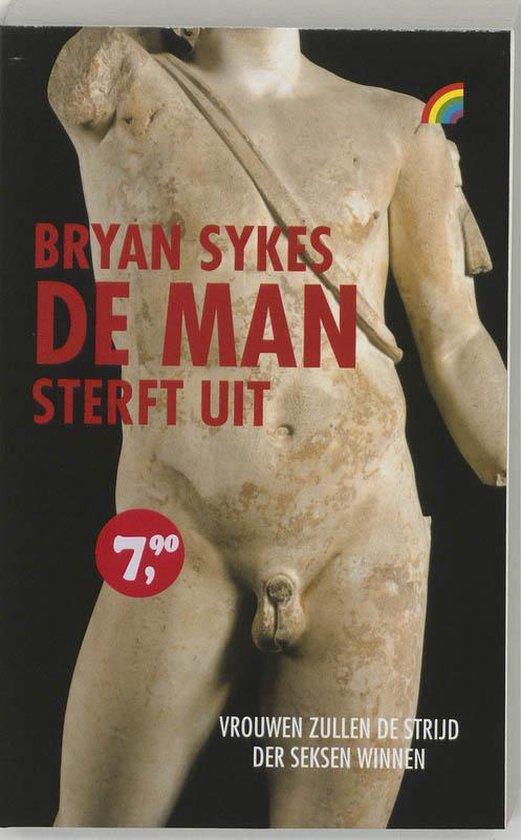 Cover van het boek 'De man sterft uit' van Bryan Sykes