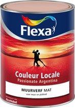 Flexa Couleur Locale - Muurverf Mat - Passionate Argentina Dawn  - 2545 - 1 liter