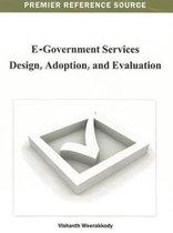 E-Government Services Design, Adoption, and Evaluation