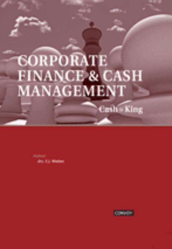 Corporate Finance en Cash Management - Hans Wiebes pdf epub