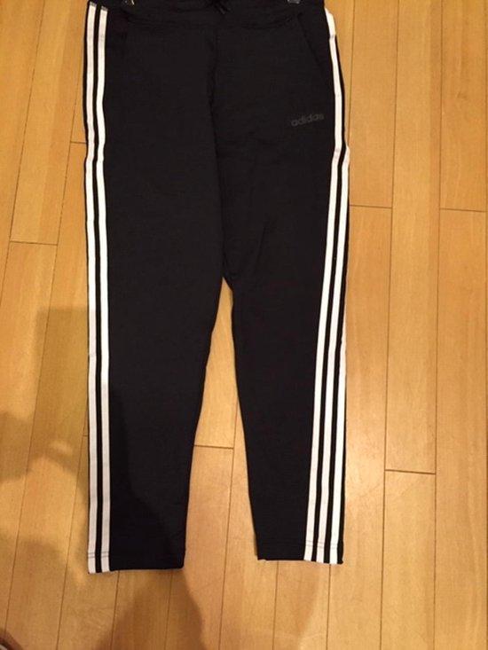 adidas D2M 3-Stripes trainingsbroek dames zwart/wit