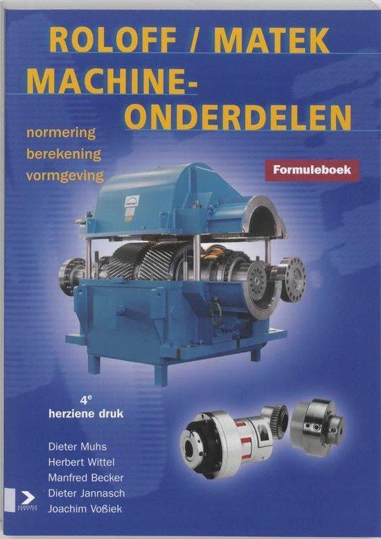 Roloff/Matek Machineonderdelen Formuleboek - Roloff/Matek |