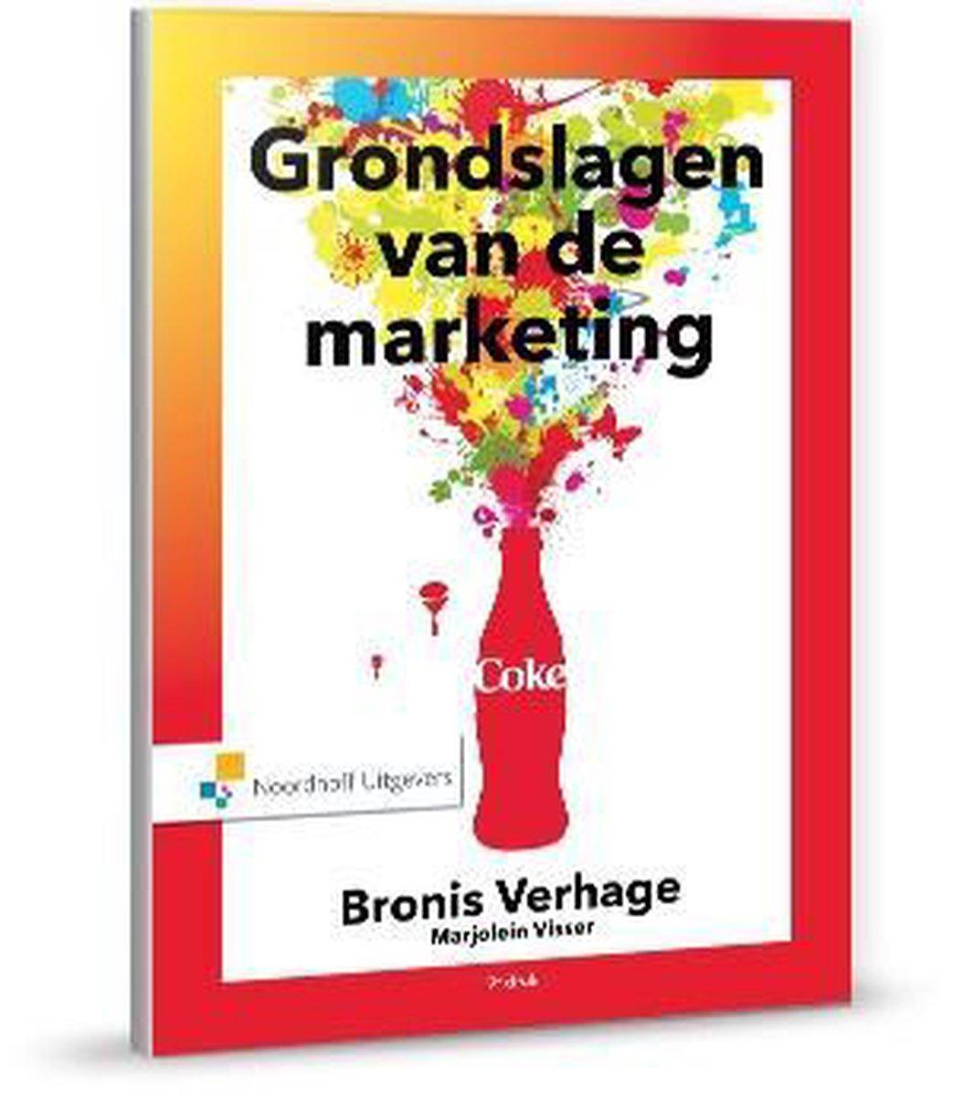 Grondslagen van de marketing - Bronis Verhage