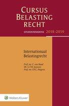 Studenteneditie Cursus Belastingrecht Internationaal Belastingrecht 2018-2019