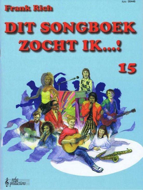 Dit songboek zocht ik! 15 - Rich Frank | Readingchampions.org.uk