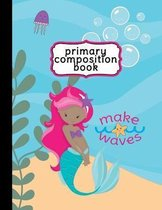 Mermaid Primary Composition Book - Handwriting Paper