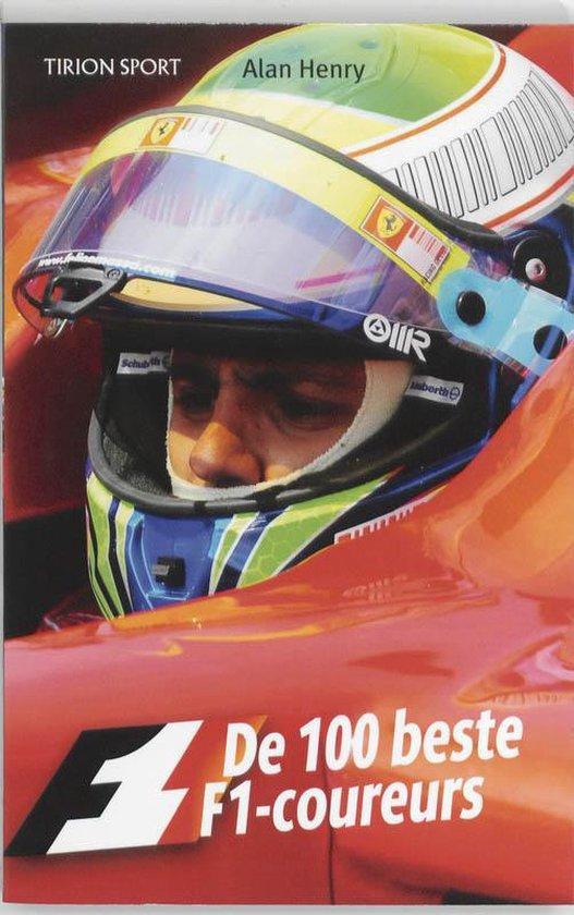 Cover van het boek '100 beste F1 coureurs' van April Henry