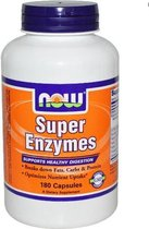Super Enzymen (180 Capsules) - Now Foods