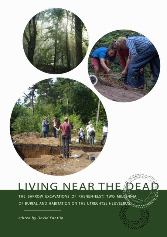 Boek cover Living near the dead van David R. Fontijn (Paperback)