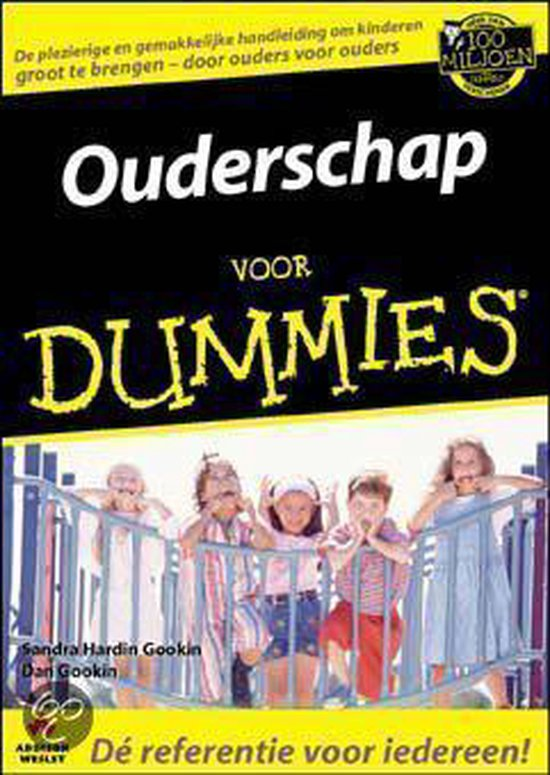 Boek cover Voor Dummies - Ouderschap voor Dummies van G.Hardin Gookin (Paperback)