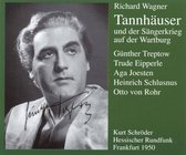 Wagner: Tannhauser / Schroder, Treptow, Eipperle, et al