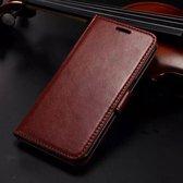 KDS Wallet case hoesje Samsung Galaxy K Zoom bruin