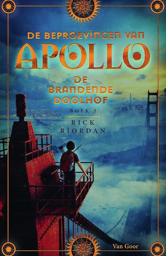 De Beproevingen van Apollo 3 - De brandende Doolhof - Rick Riordan   Fthsonline.com