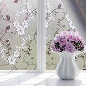 Elemental GOods Bloemen Raamfolie - Zelfklevend - 45x100 Cm