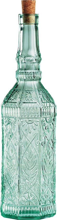 Bormioli Rocco Country Home Fiesole Bottle Fles - 0.7l - Groen Transparant