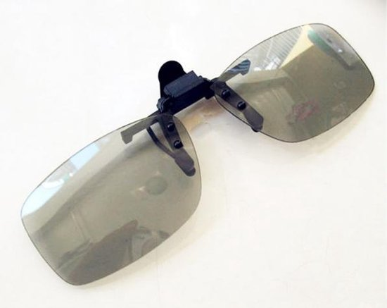 3D clip on bril - DE oplossing voor bril dragers - bioscoop - Underdog Tech