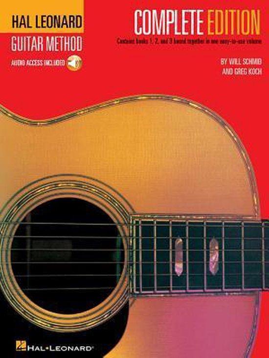 Boek cover Hal Leonard Guitar Method van Will Schmid (Paperback)