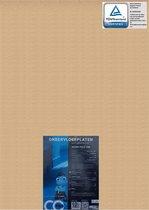 Ondervloer platen   Bruine platen   Softboard   10dB   voldoet ruim aan de norm van het bouwbesluit voor verdiepingsvloeren   goedgekeurd door woningbouwverenigingen en VVE's  dikte 10mm   pak 4,66m2