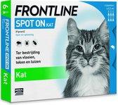 Frontline Spot-On Anti vlooienmiddel Kat - 6 pipet