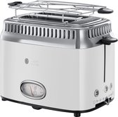 Russell Hobbs 21683-56 Retro Broodrooster Classic Blanc - Wit