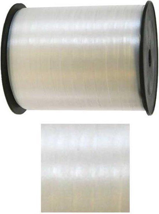 Wit lint - 500 meter - 5 mm