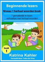 Beginnende lezers: Niveau 1 herhaal woorden boek