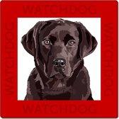 Labrador waakbord (bruine labrador)