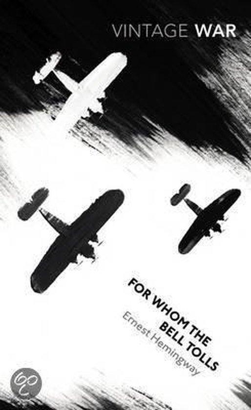 Boek cover For Whom the Bell Tolls van Ernest Hemingway (Paperback)