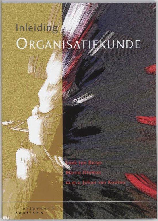 Boek cover Inleiding Organisatiekunde van Loek ten Berge (Paperback)