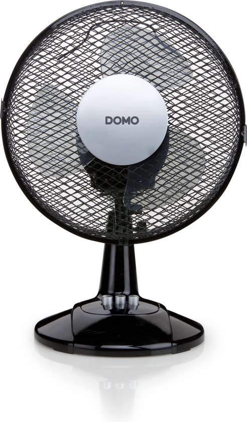 Domo DO8138 Tafelventilator Zwart