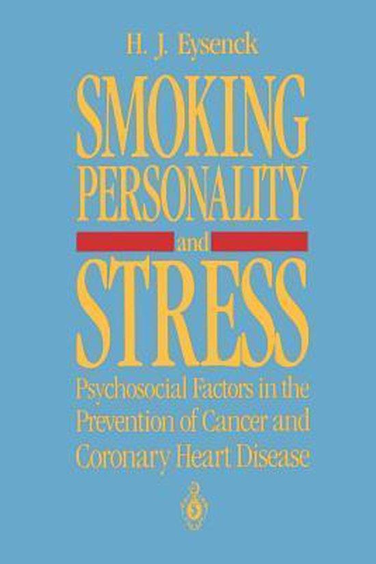Boek cover Smoking, Personality, and Stress van Hans J. Eysenck (Paperback)