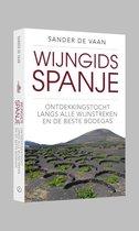 Boek cover Wijngids Spanje van Sander de Vaan (Paperback)