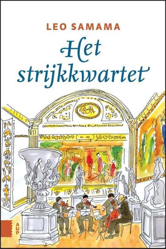 Boek cover Het strijkkwartet van Leo Samama (Paperback)