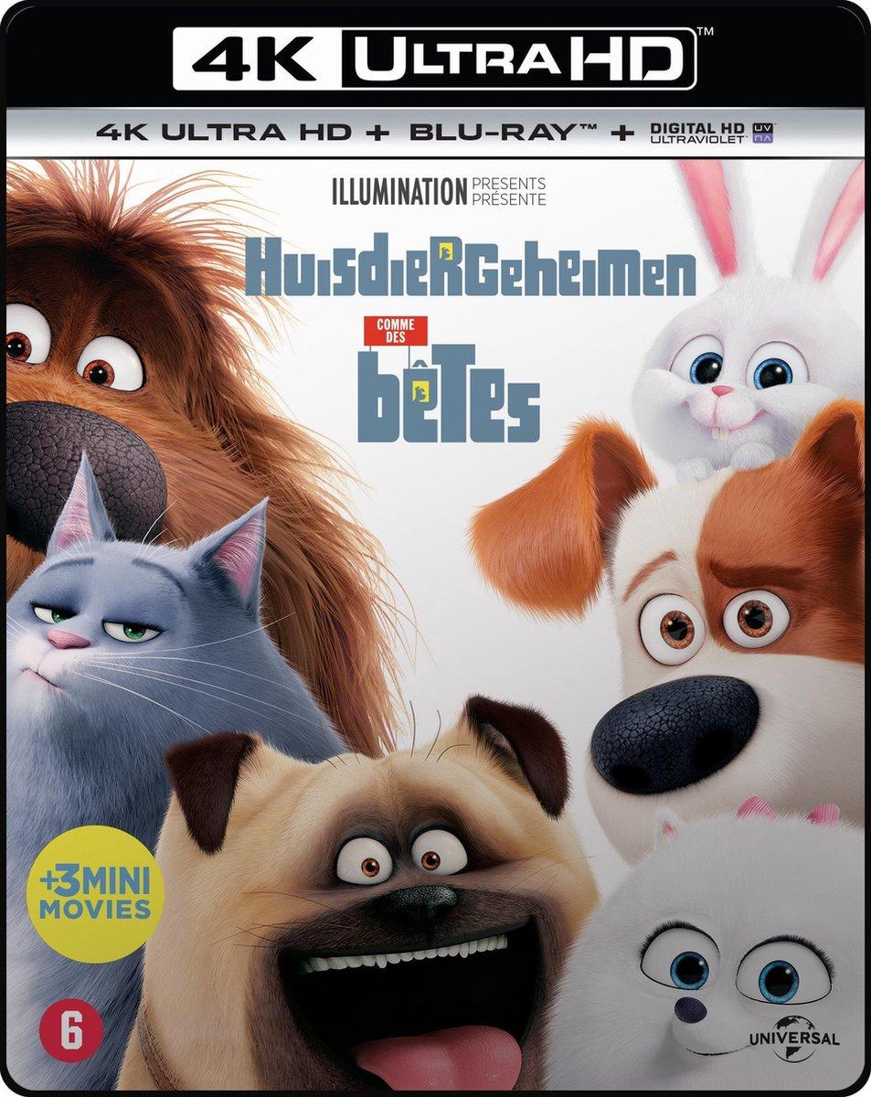 Huisdiergeheimen (4K Ultra HD Blu-ray)-