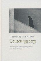 Boek cover Louteringsberg van t. Merton
