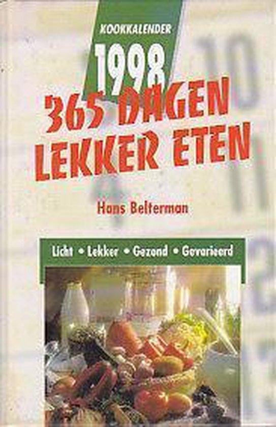Kookkalender 1998 - Belterman |