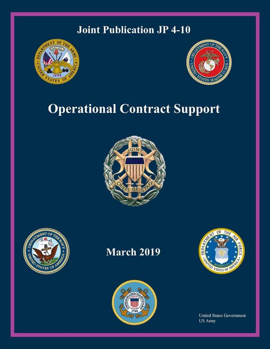 Joint Publication JP 4-10 Operational Contract Support March 2019